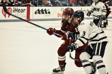 UMass hockey's Troy Power reflects as his 100th career game approaches