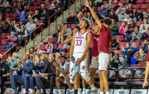 UMass men's basketball gets the three-ball rolling to help defeat Northeastern