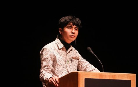 Bestselling author Ocean Vuong delivers reading at UMass Fine Arts Center