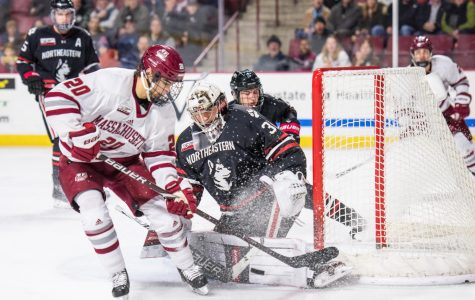 No. 3 UMass overcomes early deficit, downs No. 10 Northeastern on the road