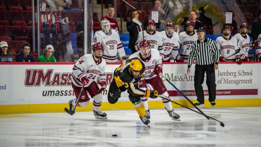 UMass looks to fix power play issues heading into UNH game