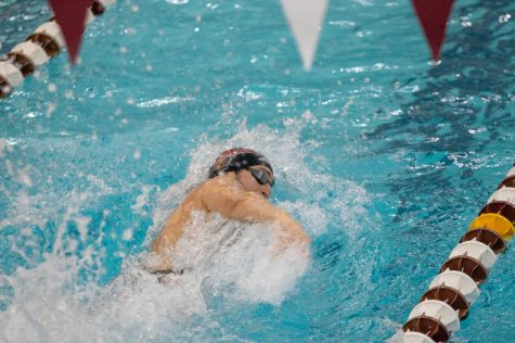 Swim and Dive: Men take third, women fifth at Terrier Invitational