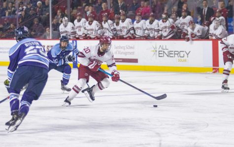 Three first-period goals push No. 11 UMass to 5-1 win over Maine on Friday