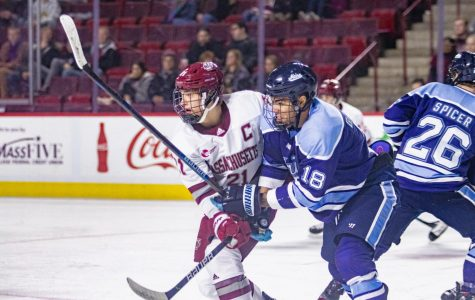 Chaffee's offensive impact key for UMass in win over Maine