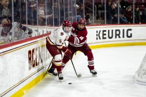 No. 10 UMass makes statement in 3-1 win over No. 4 BC