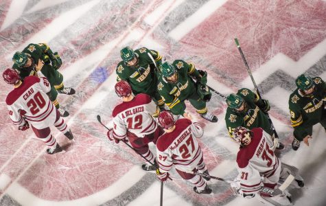 UMass finishes off sweep of Vermont, wins 3-1 Saturday night