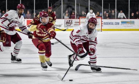 Ray Pigozzi shines in first game back for the UMass hockey team since November 4