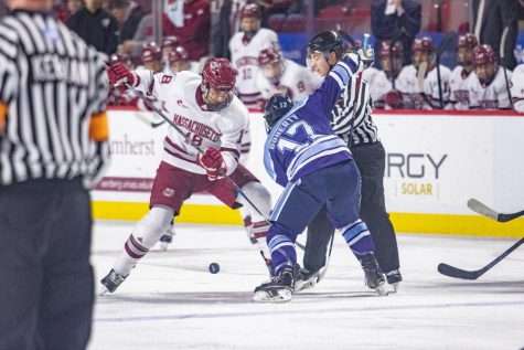 Omelets by day, superfan by night: Joanne Keller fuels UMass hockey to the Frozen Four