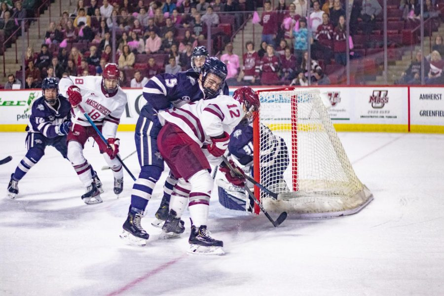 Suter's late goal earns UMass a 1-1 tie at UNH