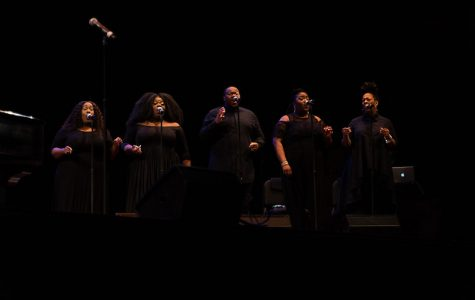 Showcase of African American music and civil rights activism held at UMass Fine Arts Center