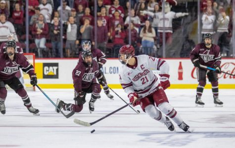 Chaffee's hat trick powers No. 10 UMass to 4-0 win over UVM