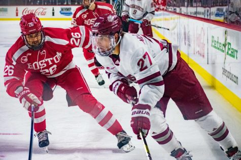 UMass visits Central Conn. for matinee