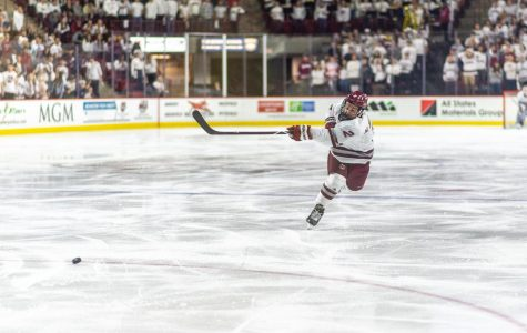 Flaherty: On a big night at Mullins, UMass unable to get it going in shutout loss