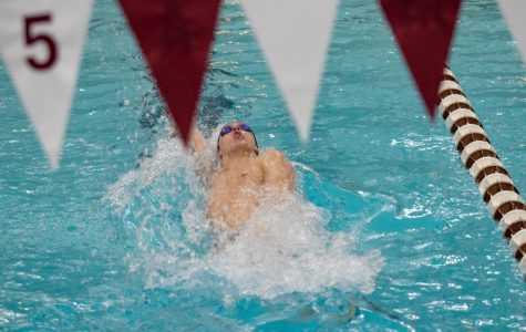 Swim and Dive: Men's and women's team head to Bryant for first meet of the second semester