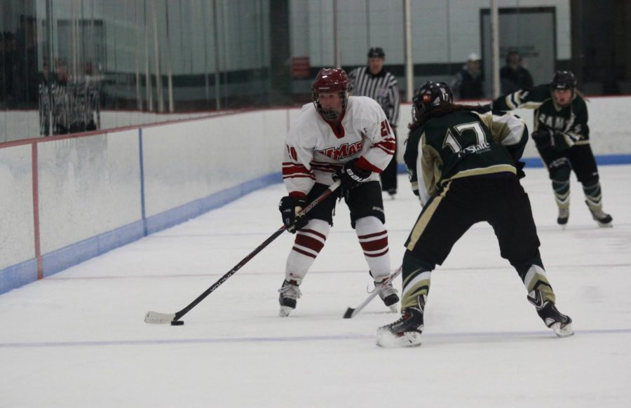 UMass women's hockey hopes to stay in the top eight with back-to-back home games against Penn State