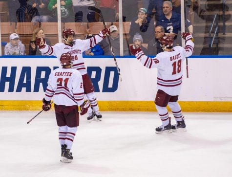 UMass hockey's offense smothered in 4-1 loss to Arizona State