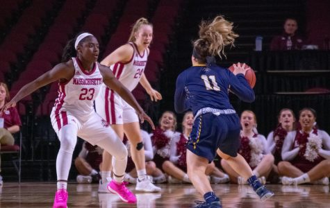 UMass women's basketball holds on for crucial A-10 win