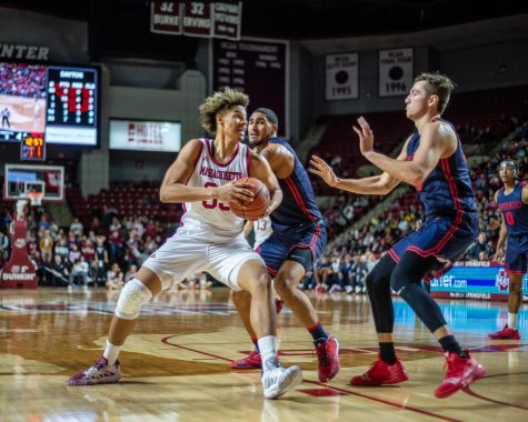 UMass basketball prepares to face tallest player in the nation against UCF