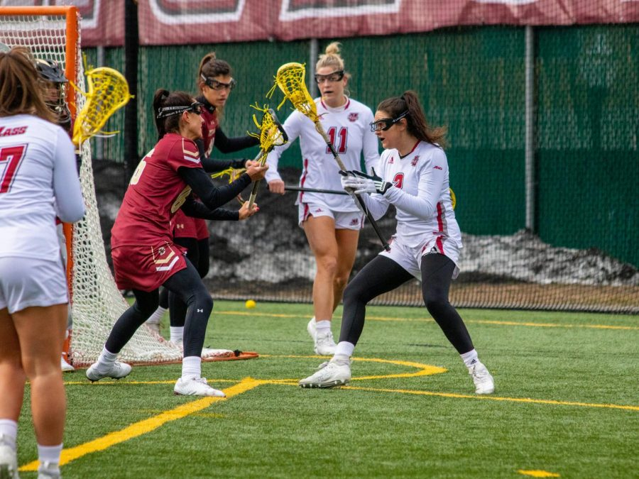 Despite a tough loss, Haley Connaughton continues her dominance on the attack for UMass