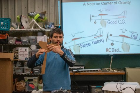 UMassAir hosts airplane building workshop