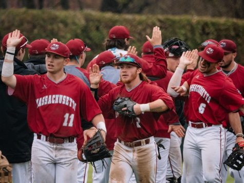 UMass baseball falls in first-ever Division I matchup with UMass Lowell 7-3