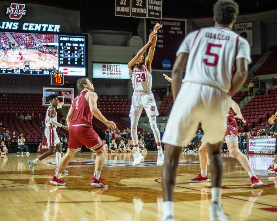 UMass men's basketball looking to extend A-10 winning streak to three games