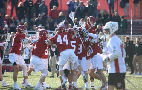 Men's lacrosse loses to Harvard in home opener