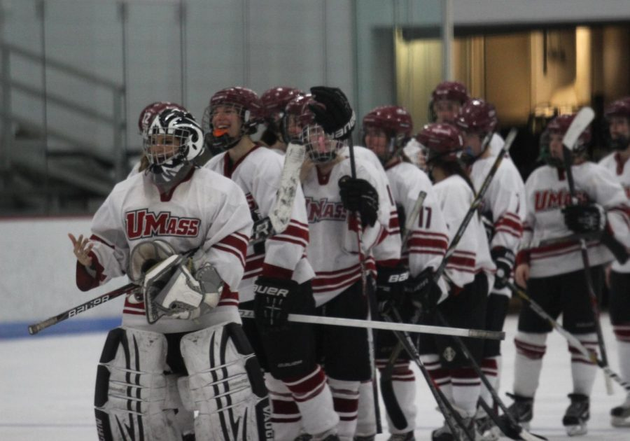 Minutewomen prepare for their two of possibly five matchups against rival Rhode Island