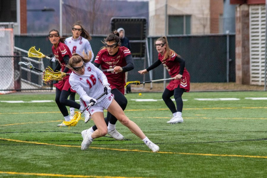 UMass+women%E2%80%99s+lacrosse+falls+to+Dartmouth+at+home