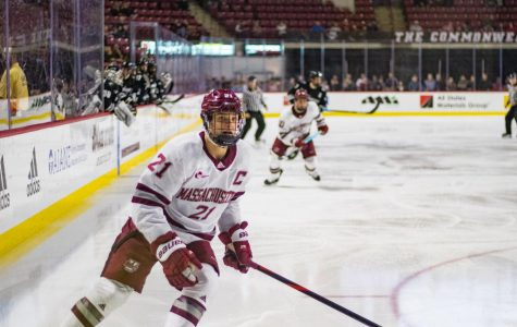 UMass gets a boost as Mitchell Chaffee returns entering playoff hockey