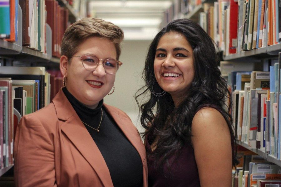 Question and answer: SGA presidential and vice-presidential candidates Barkha Bhandari and Sonya Epstein answer questions about their platform.