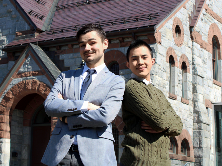Question and Answer: SGA presidential and vice-presidential candidates Michael Suchecki and Sean Vo are running in the 2020 election