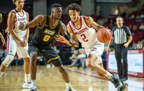 UMass men's basketball team ends season with rivalry game against URI