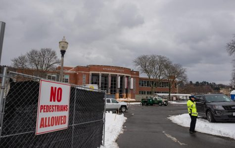 Student Union construction continues with an 'uncertain' timeline