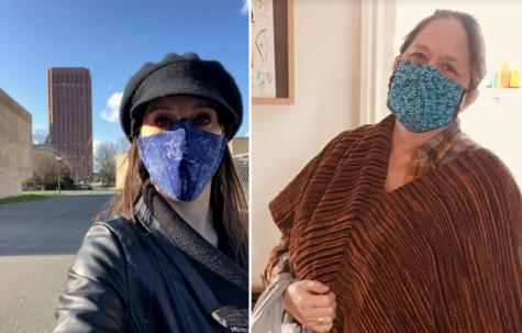UMass Costume Shop delivers hundreds of cotton masks to local high-risk businesses