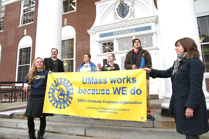 Unfair labor practice charges filed against University