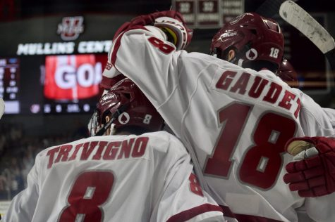 UMass names Gaudet captain, Trivigno and M. Del Gaizo assistant captains for 2020-21 season