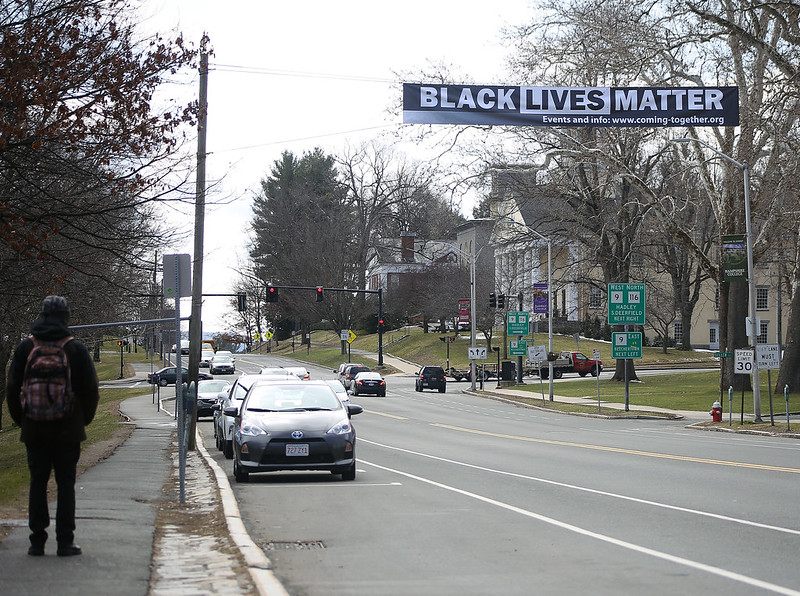 Black Lives Matter protests around the Pioneer Valley and Boston