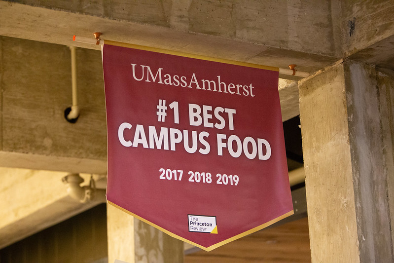 UMass+Dining+named+Princeton+Review%E2%80%99s+%E2%80%9CBest+Campus+Food%E2%80%9D+for+fifth+consecutive+year