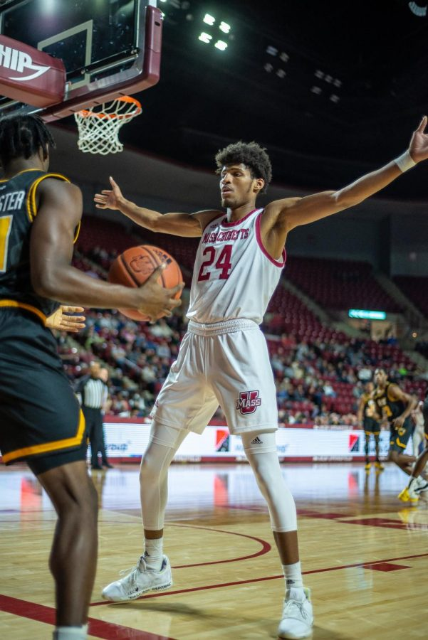 Dibaji Walker's addition to the starting lineup provides flexibility for UMass