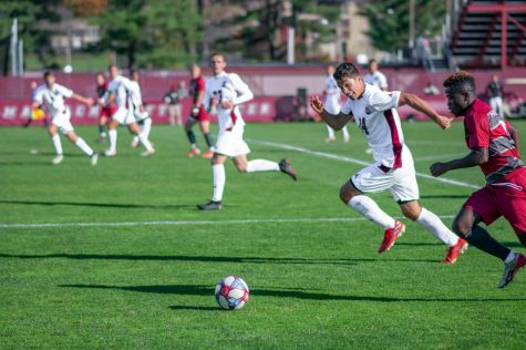Minutemen start off strong with impressive 2-0 defeat of Northeastern