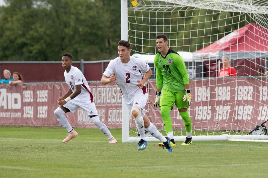 Dorchin, UMass defense pull out the clean sheet in 2-0 win over Northeastern