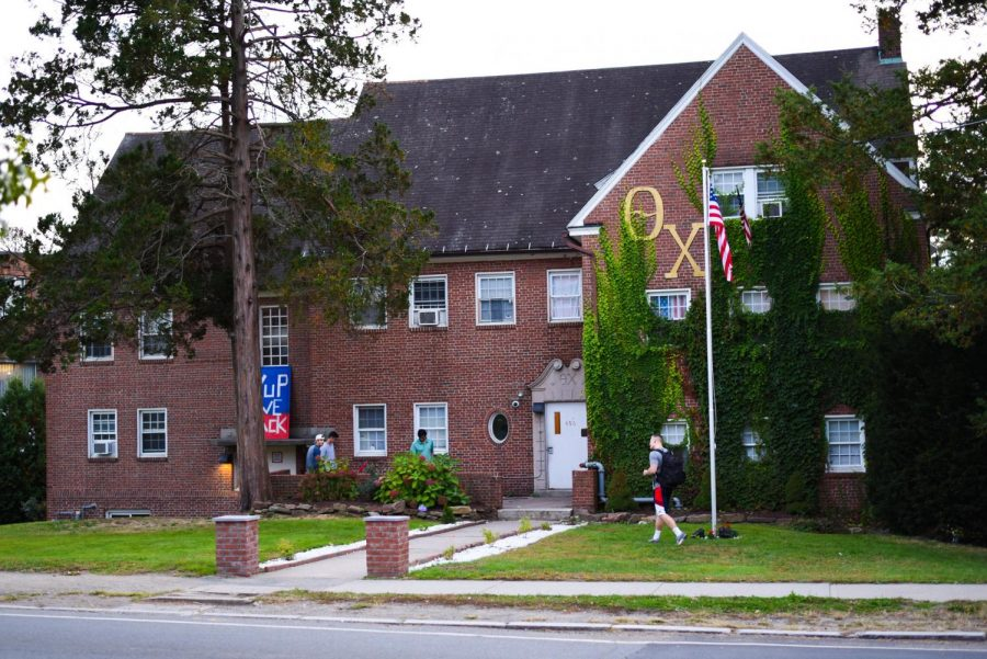 'Good to be back': Theta Chi hosts two crowded parties weekend after students return to campus, leading to COVID-19 cases