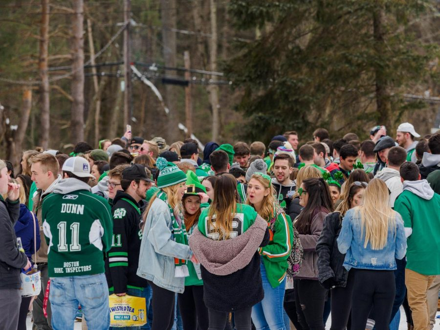 UMass prepares for 'Blarney Blowout' weekend