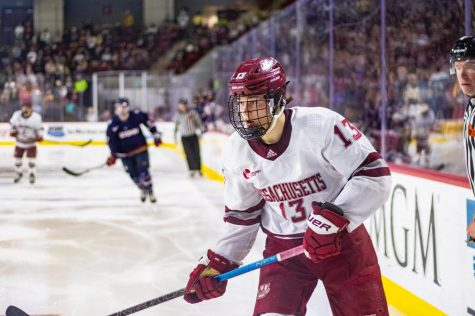 UMass hosts Maine in regular season finale on Friday afternoon