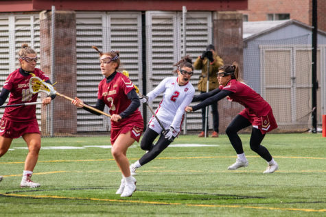 """She's the point guard:"" Haley Connaughton's playmaking sets the tone in UMass' 21-12 victory over Saint Joseph's"