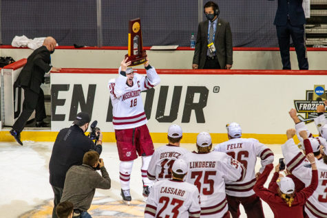 UMass' senior class completes the program's turnaround, wins national championship