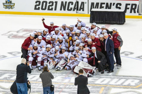 UMass wins national championship 5-0 over St. Cloud State