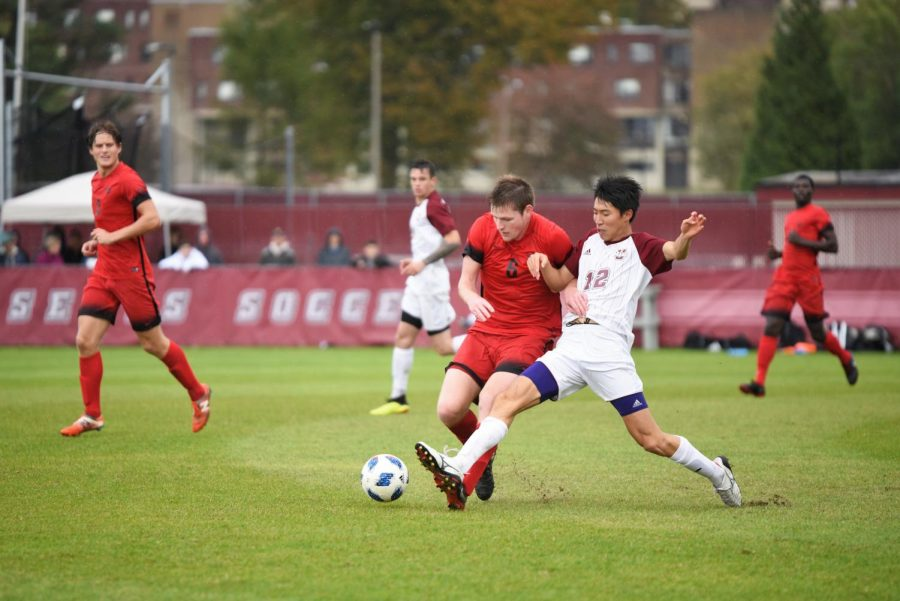 UMass men's soccer hoping to continue its unbeaten run when it takes on CCSU in a nonconference matchup