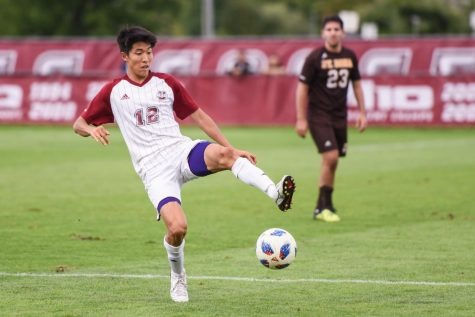 Yosuke Hanya's stellar play has been critical to UMass' success this year